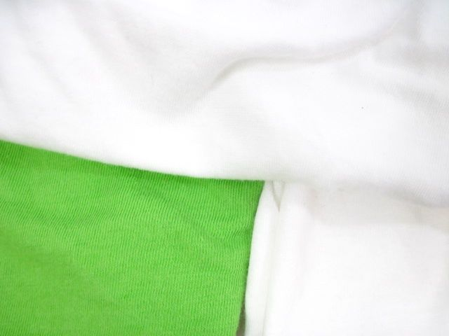 LOT 3 NWT ALTERNATIVE White Green Tank Tops Sz S