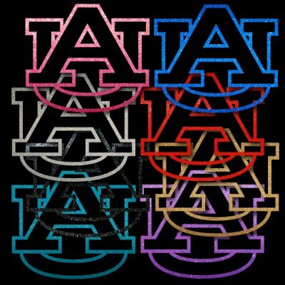 Auburn Tigers AU Pair of Auto Window Stickers Decals