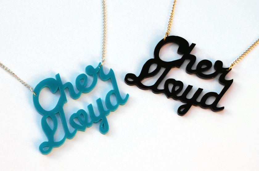 Cher Lloyd necklace fan girl merchandise gift