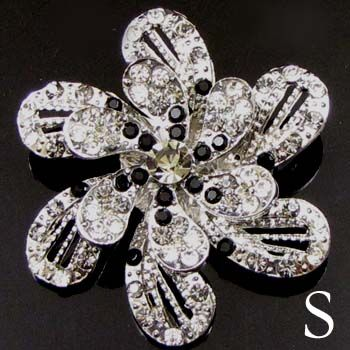 Item  1 pc Austrian rhinestone crystal flower brooch pin