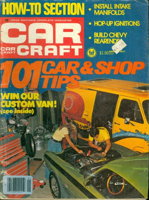 1977 car craft magazine 101 car shop tips custom van intake for Car craft magazine back issues