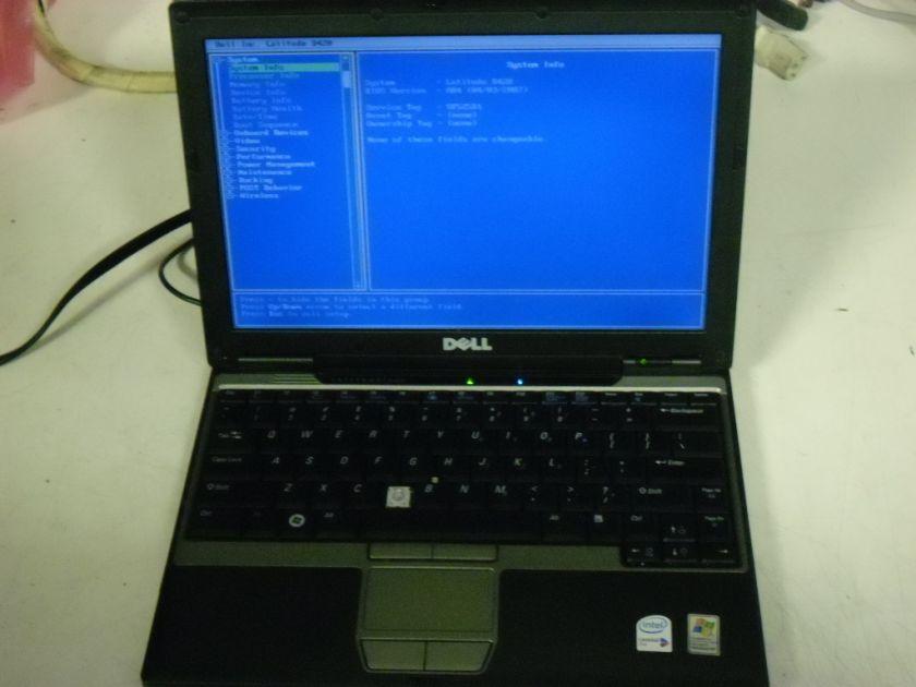DELL LATITUDE D420 / CORE DUO 1.2 GHZ / 1GB / WINDOWS XP PRO COA