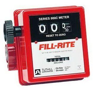 Fill Rite 807C   3/4 Mechanical Flow Meter (5 20 GPM)